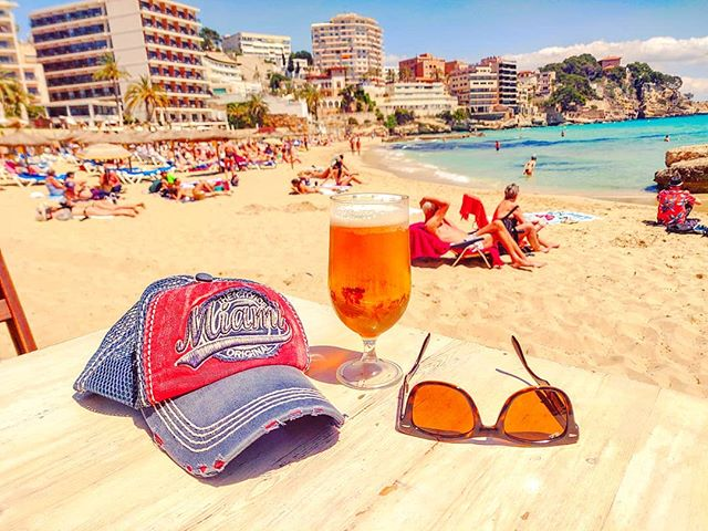 That's it •••#palmademallorca #balearicislands #beach #beer #sand #summer #cruising #cruise #crew #sailing #travel #traveling #traveler #instatravel #instapassport #instatraveling #travelgram #travelingram #igtravel #travelblog #sea #travelstoke