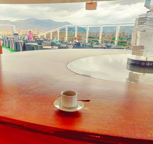 Coffee time•••#Palermo #bar #power #caffei #sailor #cruising #cruise #crew #sailing #travel #traveling #traveler #instatravel #instapassport #instatraveling #travelgram #travelingram #igtravel #travelblog #sea #travelstoke