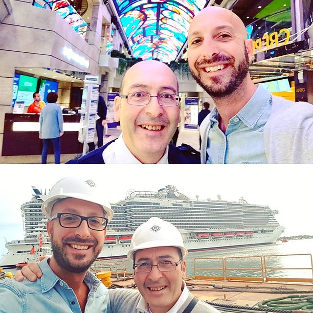 The most amazing achievements have always a great passion and dedication and solid experience behind. Proud to be in the startup team with Salvatore, who deserve the most congrats. #msccruises #mscfamily #msccrociere•••#cruising #cruise #crew #sailing #travel #traveling #challenge #shipyard #traveler #instatravel #instapassport #instatraveling #travelgram #travelingram #igtravel #travelblog #sea #travelstoke
