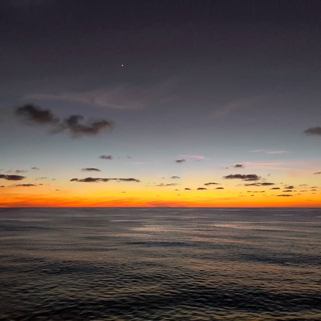 Just after the sunset I seen the sea burning... 🤙 #crew #sailor #sailing #lifeatsea #sunsetlovers #sunsets #traveladdict #travelblogger #seaside #sunset #travelawesome #travelgram #travels #travelphotography #traveler #travelstoke #travel  #travelphoto #crewlife #travelingram #cruise #sunset_pics #travelling #sea #traveling #cruiselife