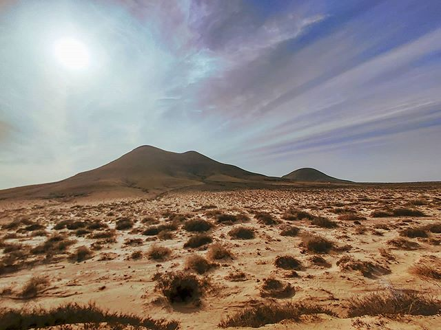Get lost in the middle of the nowhere 🌬️🏜️🤙 #fuerteventura #canaryislands #desertlife #sandy #travelingram #travelphotography #traveler #traveladdict #travelstoke #travelgram #deserteam #tbt #traveller #desert #clouds #traveling #travelblog #sunny #travelphoto #travelawesome #travelling #sunrise #travelpics #sunlight #travelholic #cloud #travellife #travel #sand