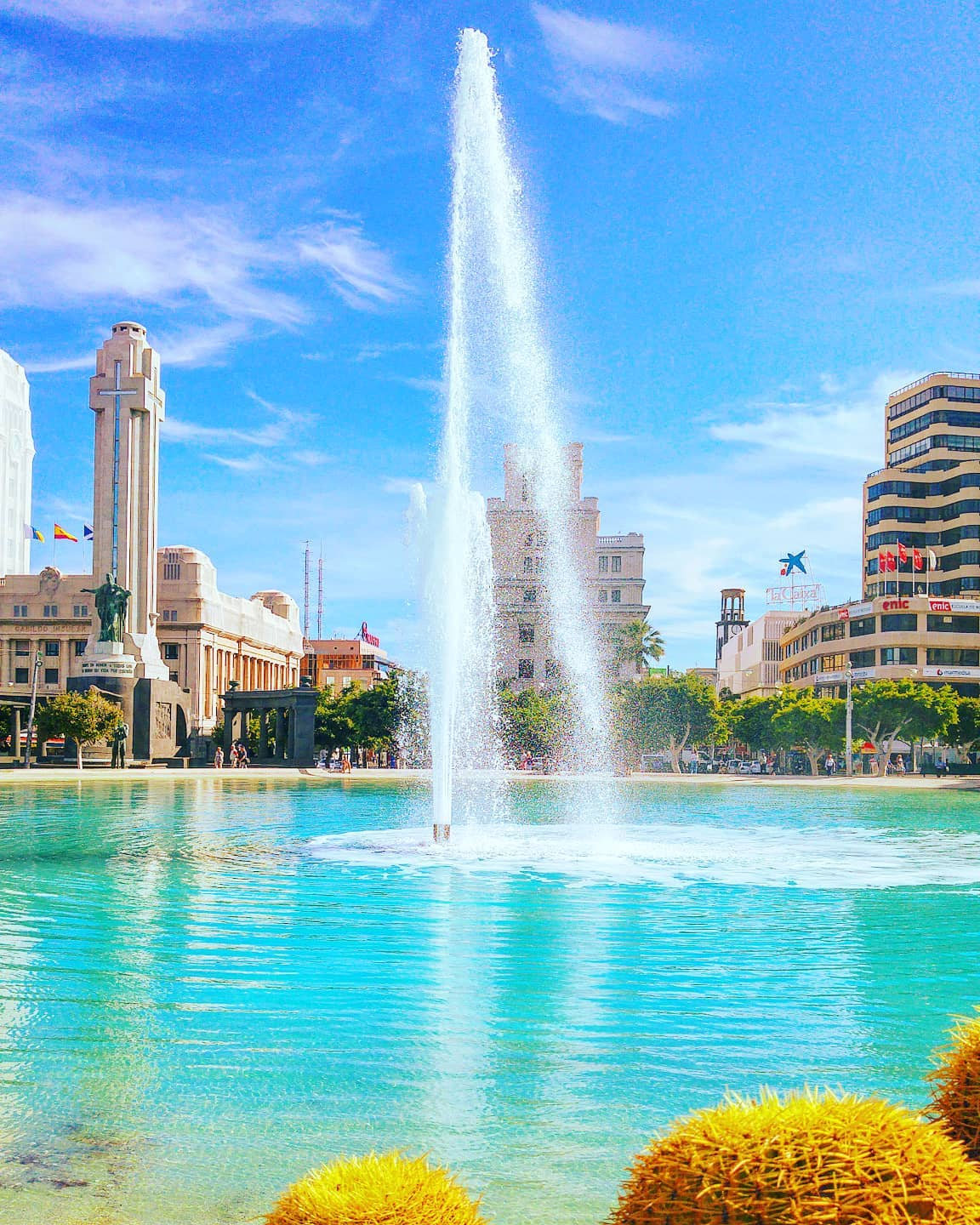 Blue mood 🤙 Santa Cruz, Tenerife 2015 #santacruz #travelpics #blue #traveler #watercolor #traveller #tenerife #travelling #travelgram #travels #travelstoke #fountain #travellife #tbc #travelawesome #traveladdict #travel #travelblog #traveling #travelphotography #igerstenerife #water #travelholic #travelphoto #travelingram