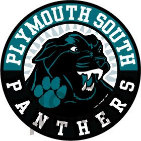 PLYMOUTH SOUTH PANTHERSjpg Custom Car Magnet Logo Magnet