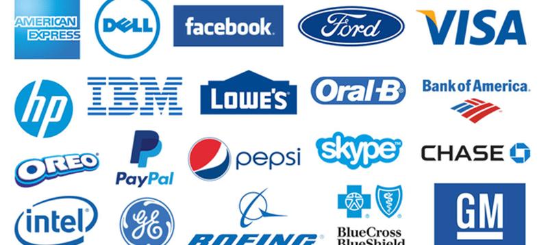 Famous  Blue logo