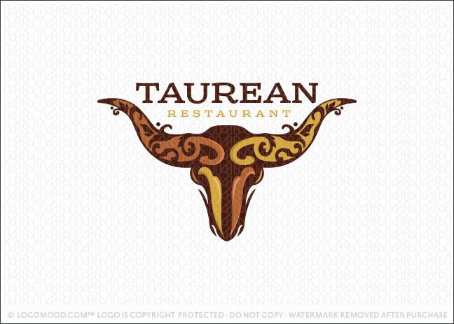 taurean bull readymade logos
