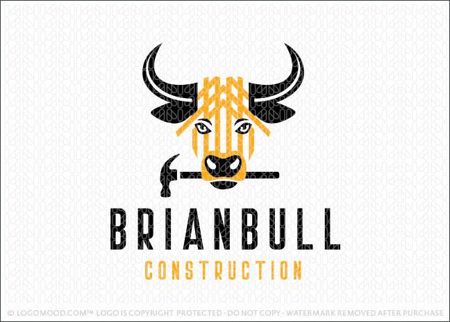 bull construction readymade logos
