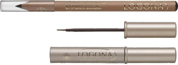 Eyeliner σε υγρή μορφή και μολύβι Eyeliner
