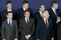 Zapatero en la cumbre de Copenhague