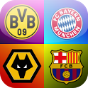 Logo Quiz - Football Clubs - By: Bubble Quiz Games - For: Android