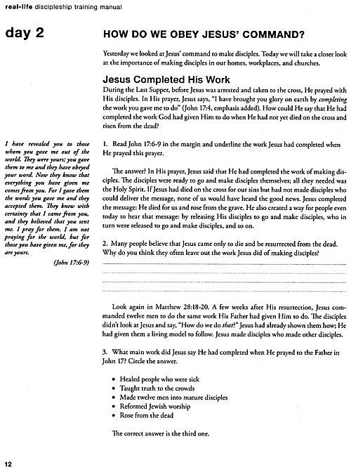 RealLife Discipleship 2 vols Logos Bible Software