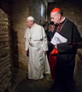 Pope Francis Necropolis