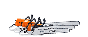 Chainsaws for Logosol chainsaw mill owners.