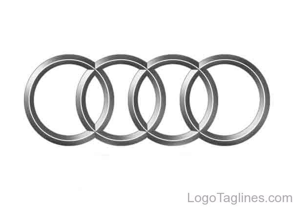 Audi Logo and Tagline