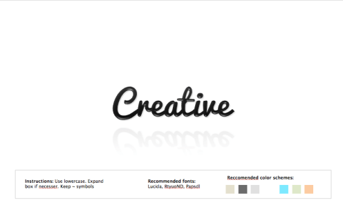 Free Logo Maker - The logo creation tool made by pro designers