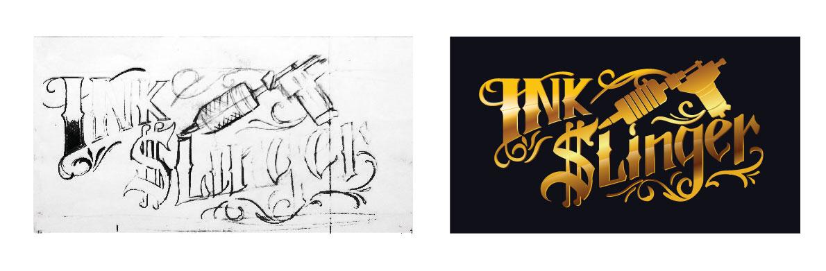 turning drawing into logo