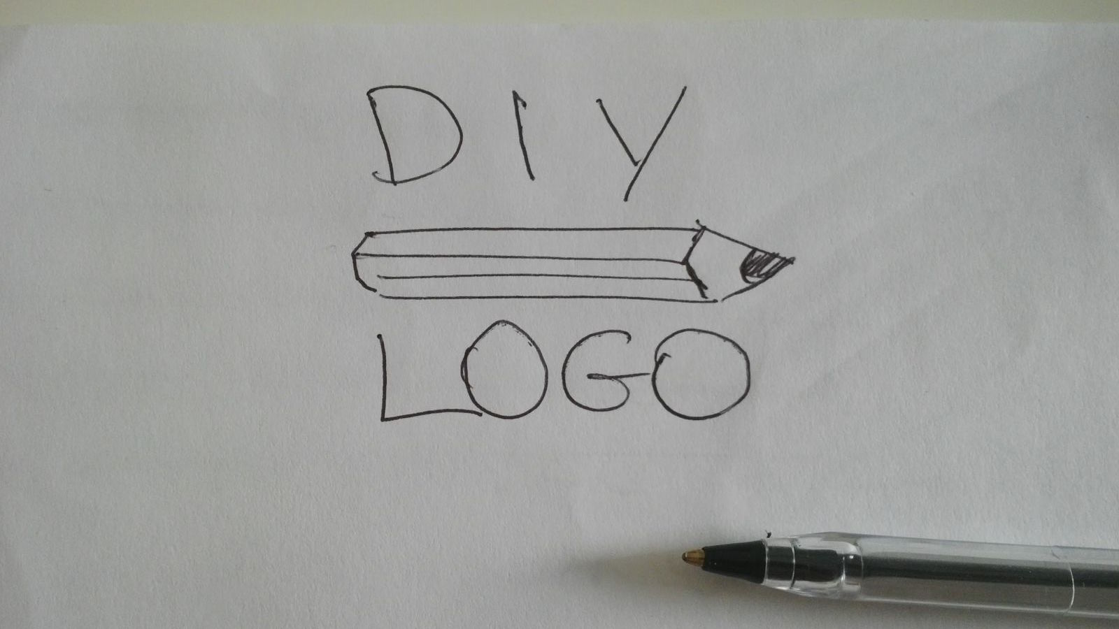 Drawing Lines Meaning : Turn a drawing into vector art how to logotypers