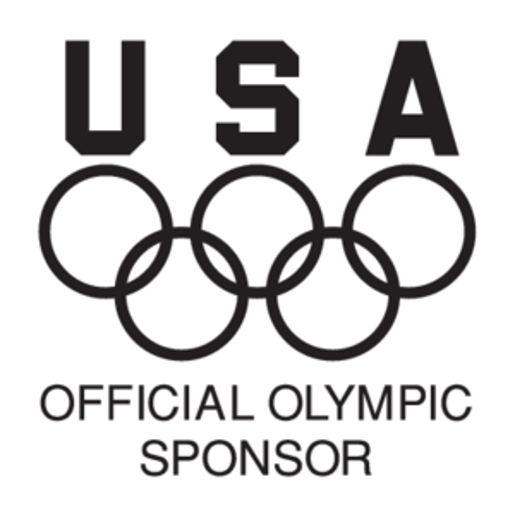 USA Official Olympic Sponsor logo, Vector Logo of USA