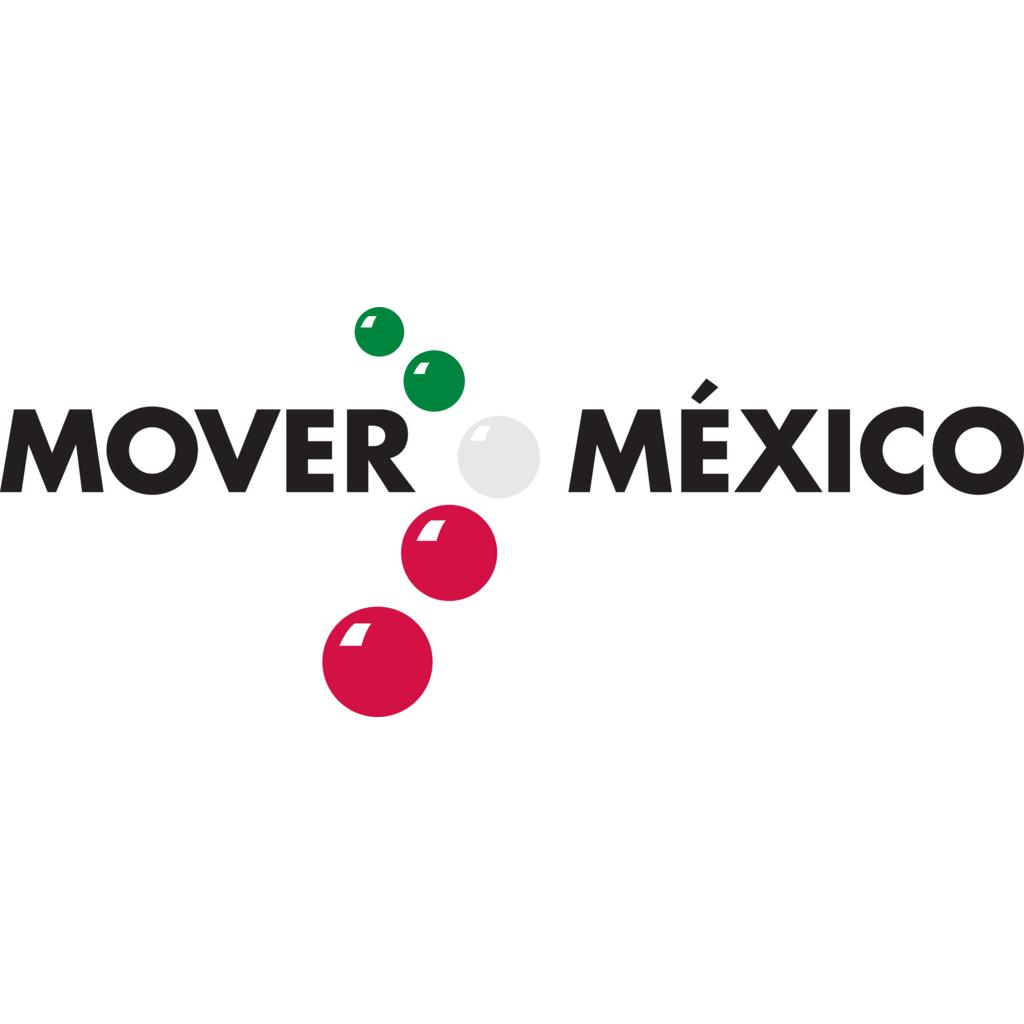 Mover a Mexico logo, Vector Logo of Mover a Mexico brand