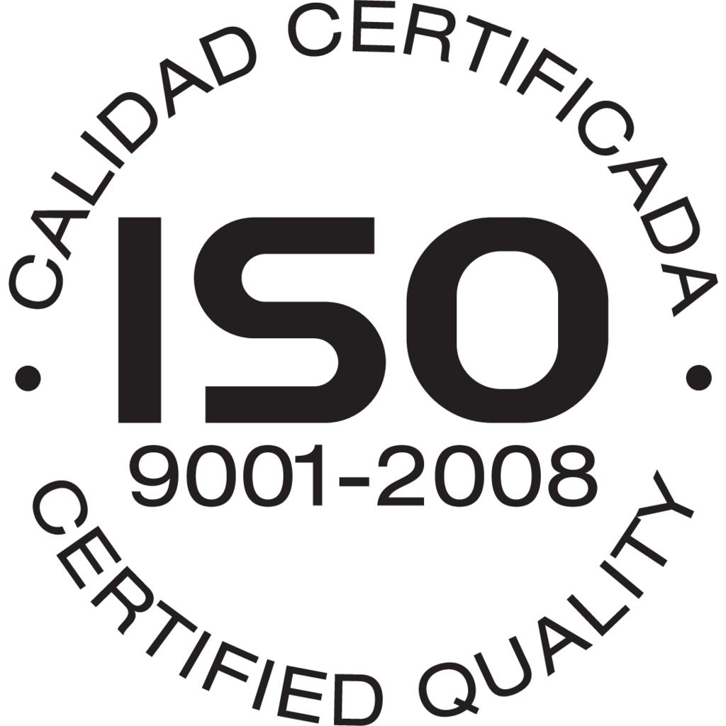 ISO 9001-2008 logo, Vector Logo of ISO 9001-2008 brand