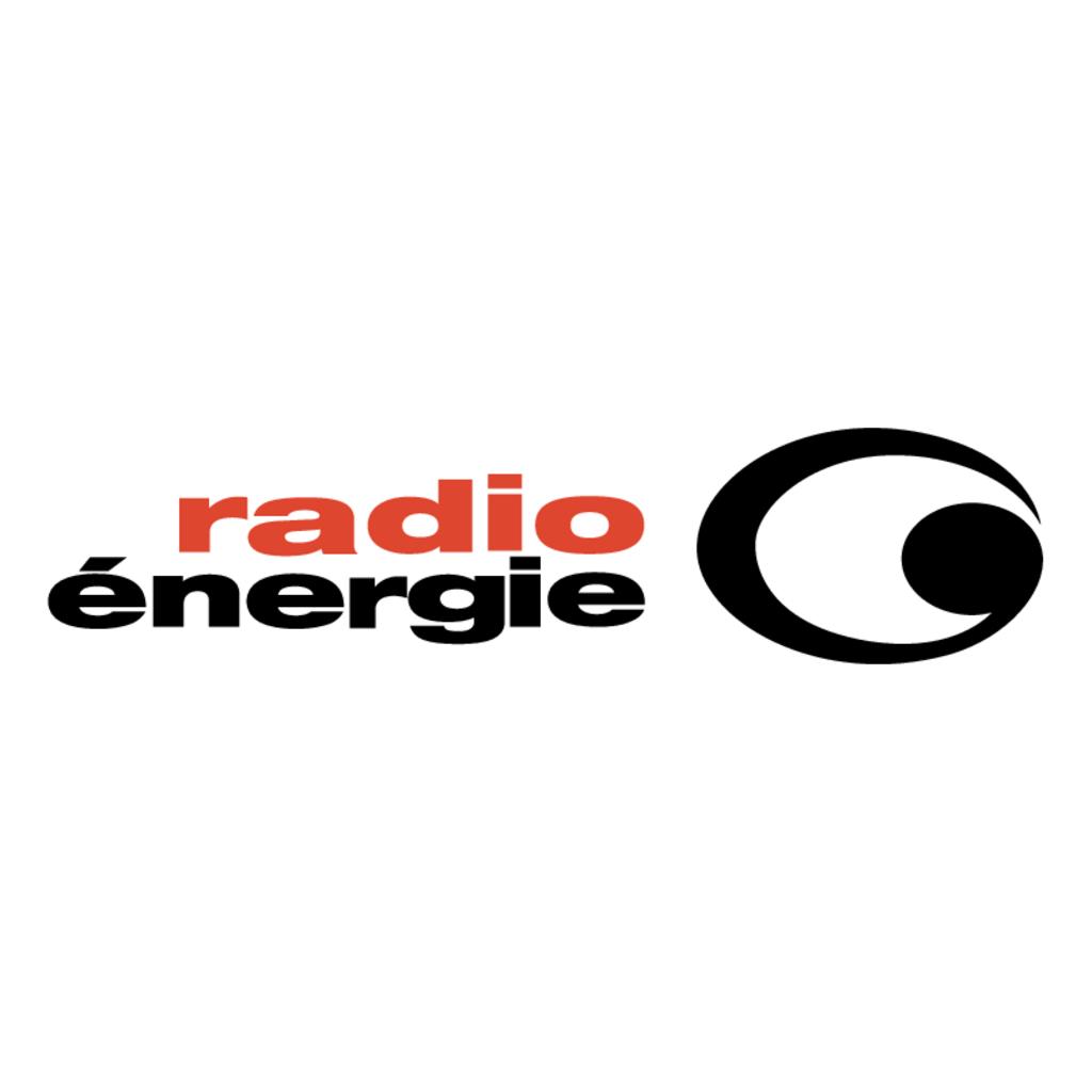 Radio Energie logo, Vector Logo of Radio Energie brand
