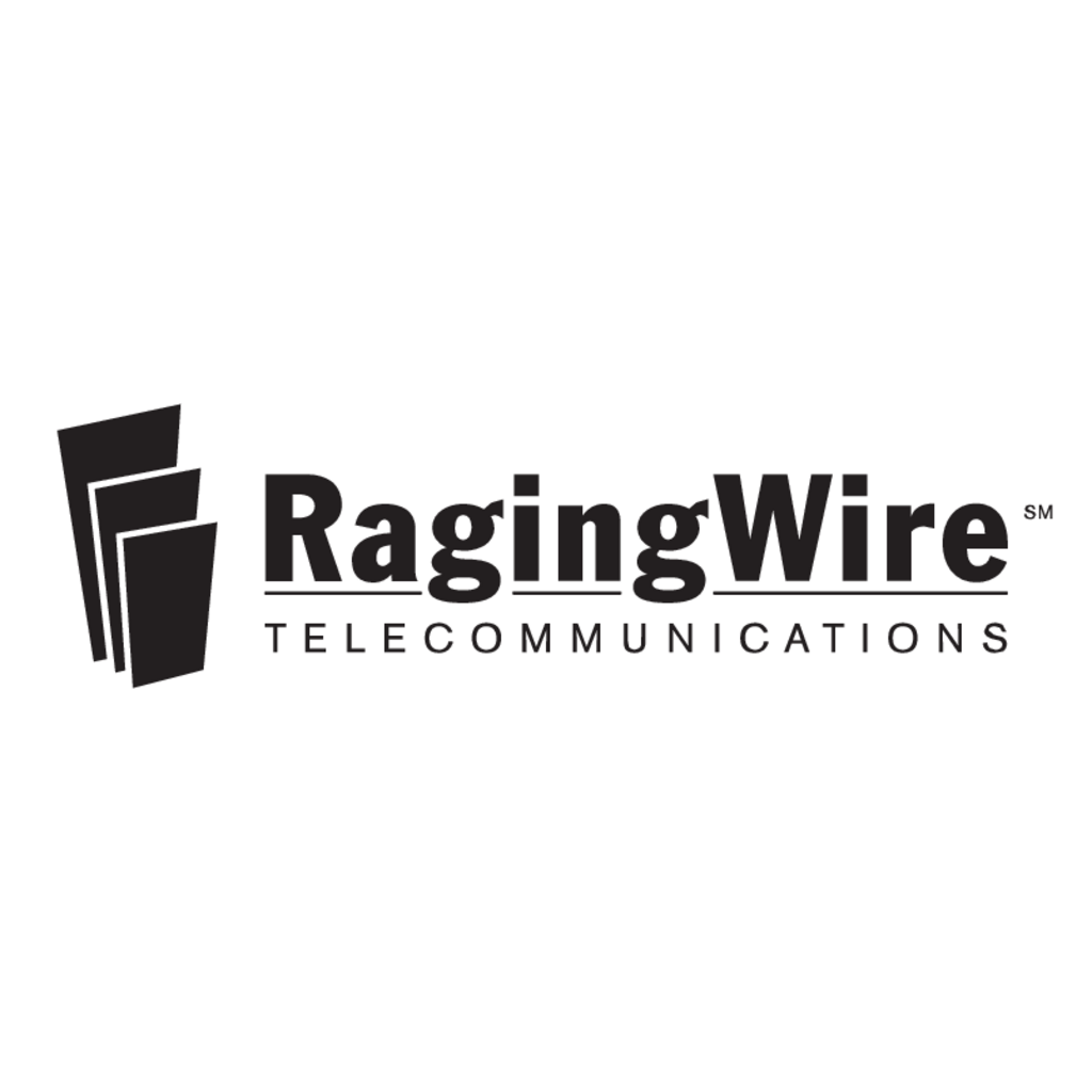 RagingWire Telecommunications logo, Vector Logo of