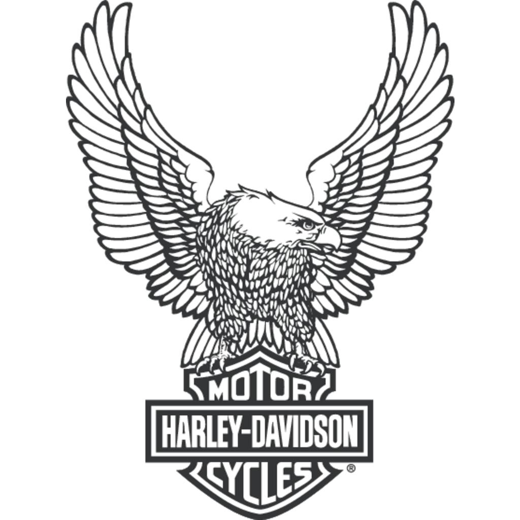 Harley Davidson logo, Vector Logo of Harley Davidson brand