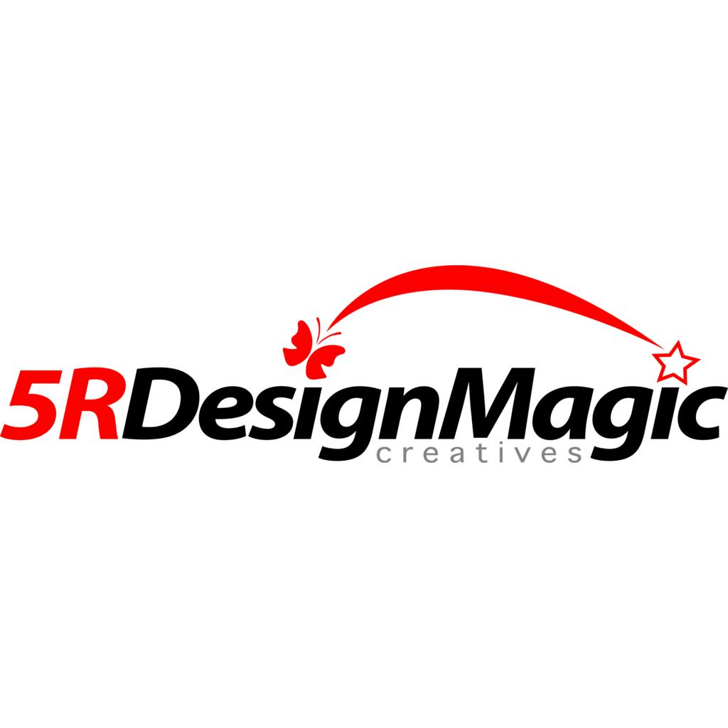 5RDesignMagic logo, Vector Logo of 5RDesignMagic brand