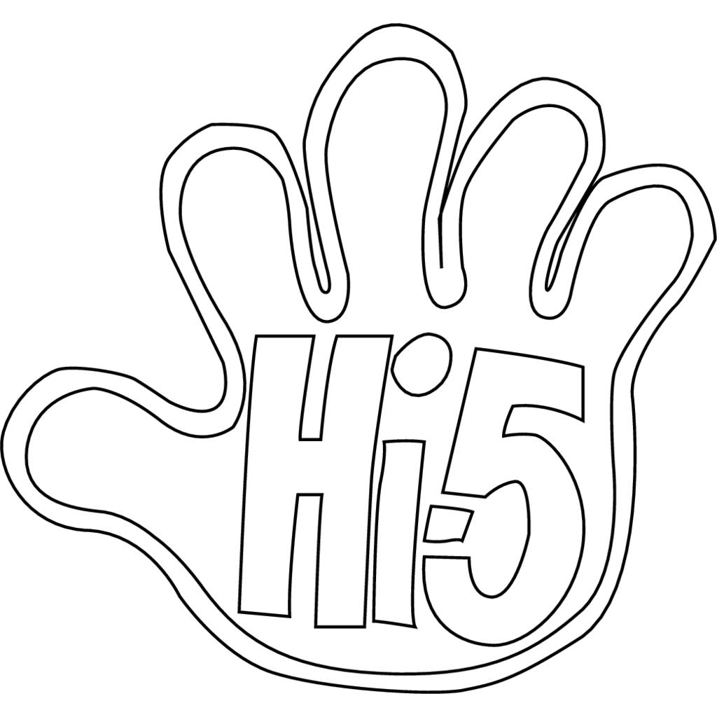 Hi 5 logo, Vector Logo of Hi 5 brand free download (eps