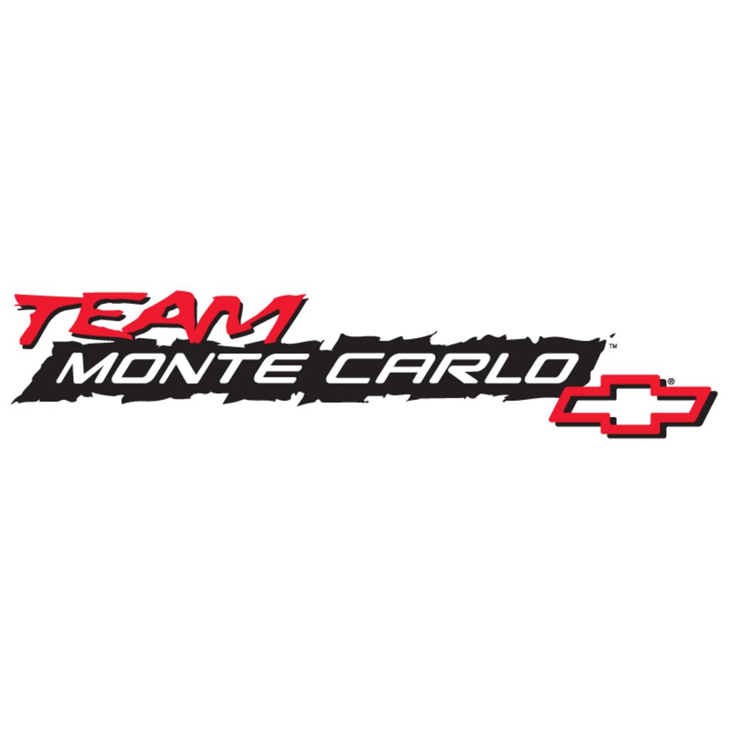 Chevrolet Team Monte Carlo logo, Vector Logo of Chevrolet