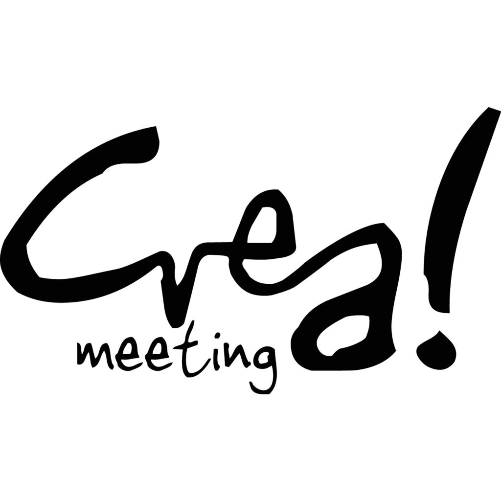 Crea! Meeting logo, Vector Logo of Crea! Meeting brand