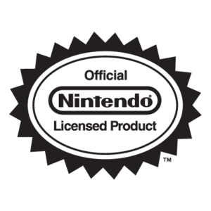 Nintendo Official Licensed Product logo, Vector Logo of