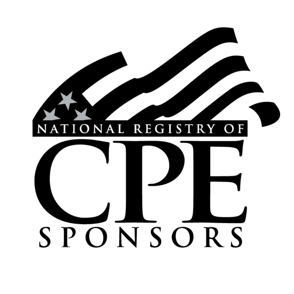 National Registry of CPE Sponsors logo, Vector Logo of