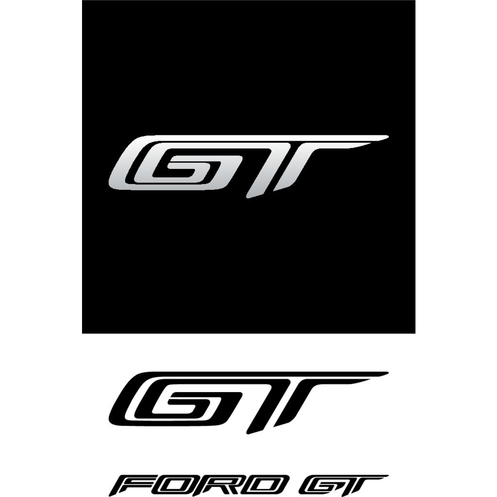 ford gt logo vector
