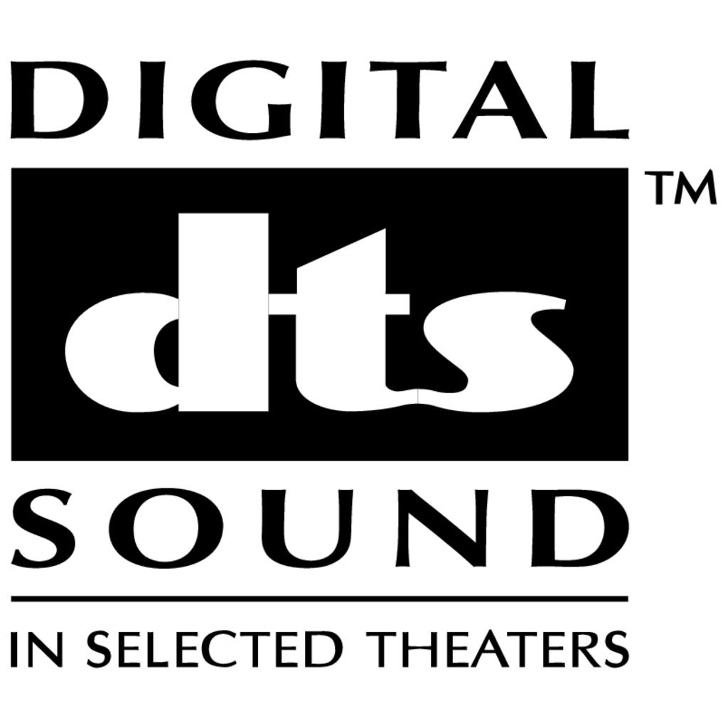 Digital DTS Sound logo, Vector Logo of Digital DTS Sound