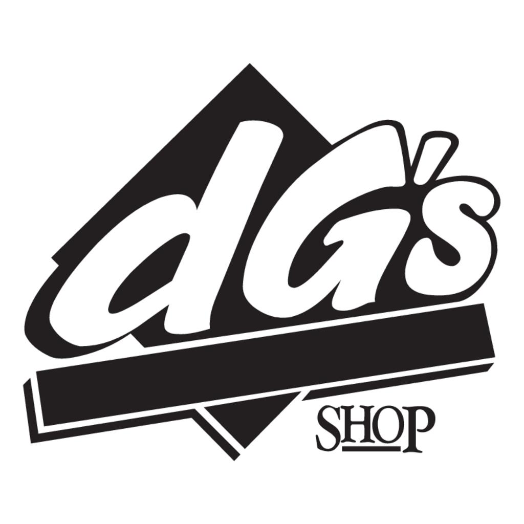 DG's Shop logo, Vector Logo of DG's Shop brand free