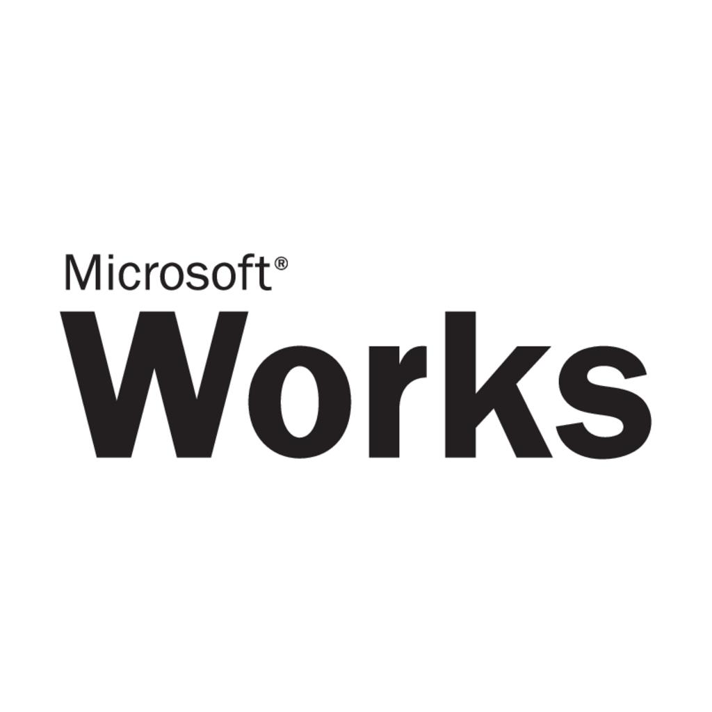 Microsoft Works logo, Vector Logo of Microsoft Works brand