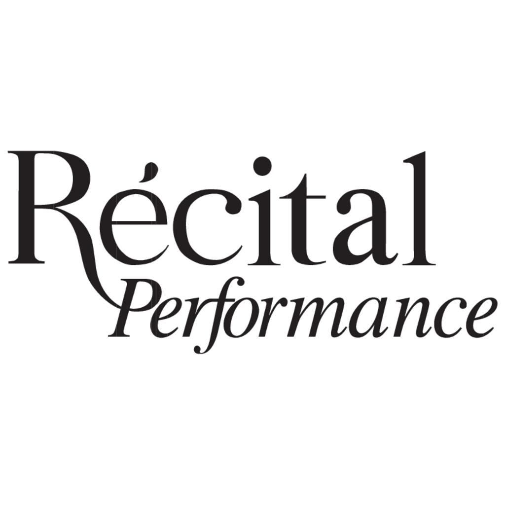 Recital Performance logo, Vector Logo of Recital