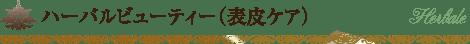 ハーバルビューティ(表皮ケア)