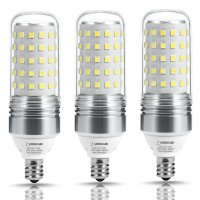 LOHAS 100W Equivalent LED Candelabra Light Bulbs,12W LED