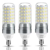 LOHAS 100W Equivalent LED Candelabra Light Bulbs,12W LED ...
