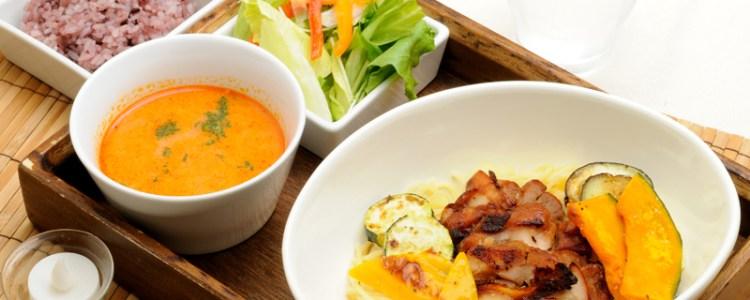 期間限定のイタリアンつけ麺。ご飯バージョンです。(パンも選べます)