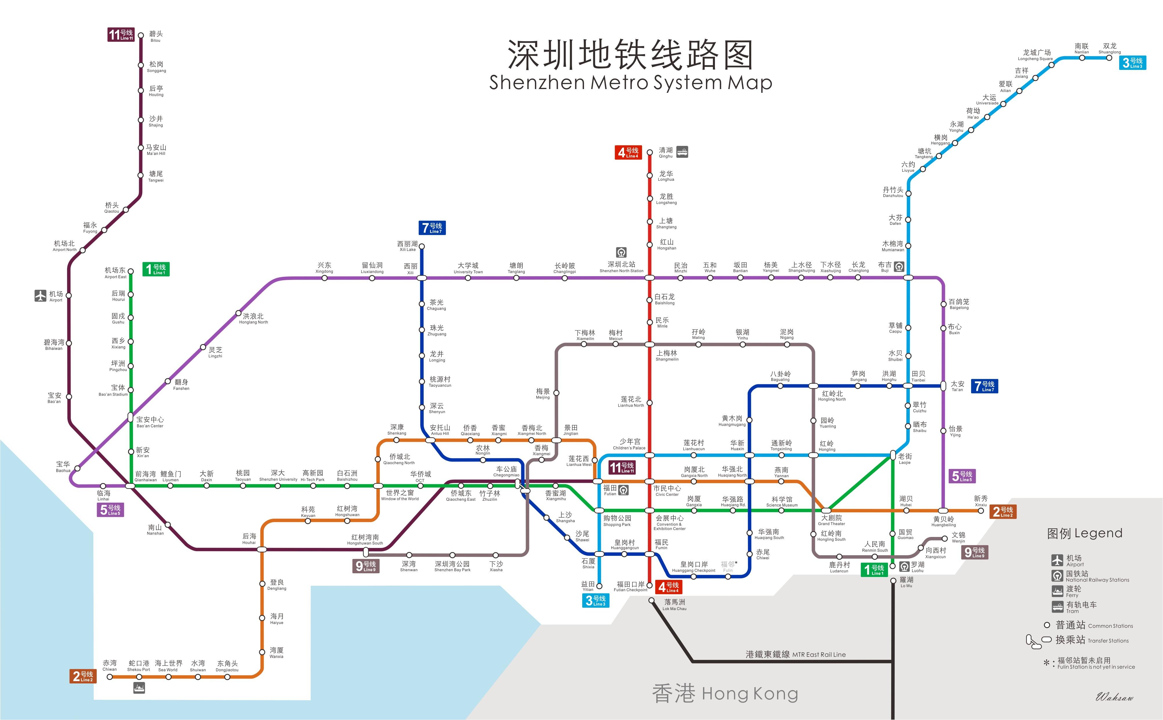 深圳地鐵路線圖2018年最新版本 出發前一定要Save低! | 佬假期 LoHoliday