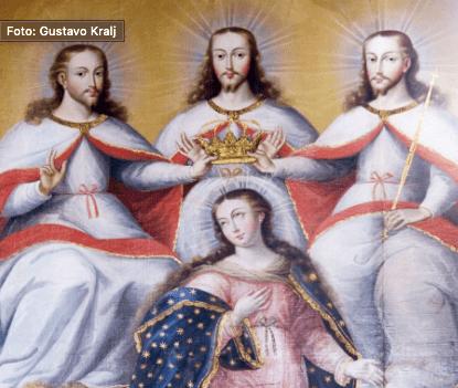 Coronacion de maria Peru
