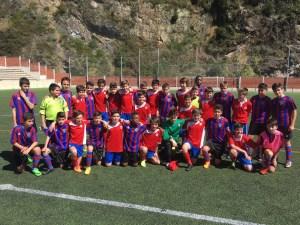 Los Infantiles B y C jugaron amistosos contra Astrabu y Etxebarri
