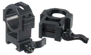UTG RQ2W3224 Picatinny Max Strength Le Grade Lot de 2 anneaux de montage épais technologie Quick Detach Ø 30 mm