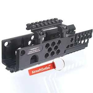 Aluminium RIS RAS Handguard Rail System pour Airsoft A&K PKM AEG [pour Airsoft uniquement]