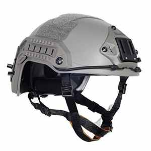 Lancer Tactical CA-805G Maritime ABS Helmet Color: Foliage Green, Size: Medium to Large by Lancer Tactical