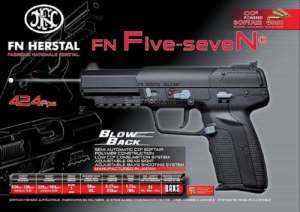 Marushin fn five seven co2 – bax blow back – marushin
