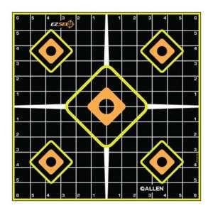 ALLEN COMPANY – EZ See Bullseye Target
