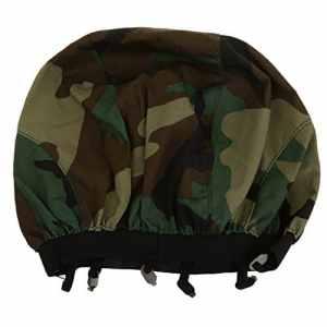 Couverture Couvre Casque Tactique Airsoft Camouflage Pour M88 – Taille Unique , Woodland Camo